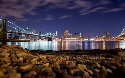 New york city at night free desktop wallpapers