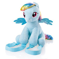 Rainbow Dash Plush Backpack