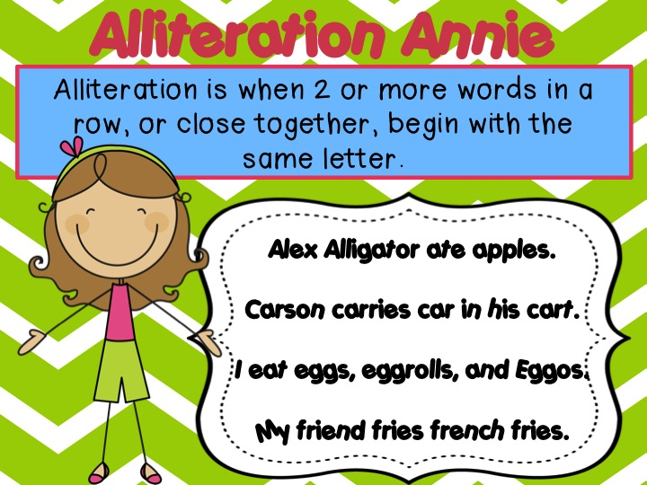 La Figurative Language Alliteration Lessons Tes Teach