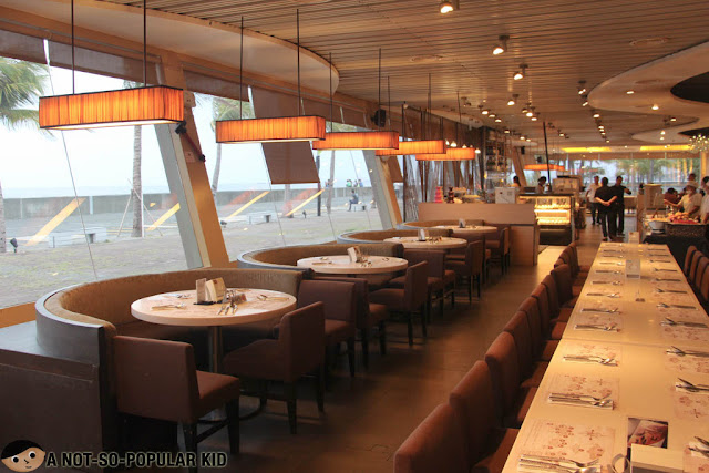 Interior of Vikings Buffet Restaurant in SM By the Bay