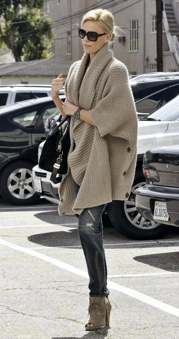Stylizacja ubioru ze swetrem