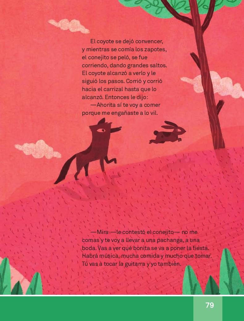 El coyote y el conejo - Español Lecturas 3ro 2014-2015