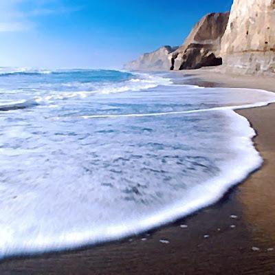 O que é a espuma do mar