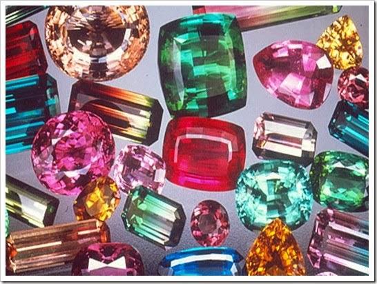 Maine Tourmaline Gemstones
