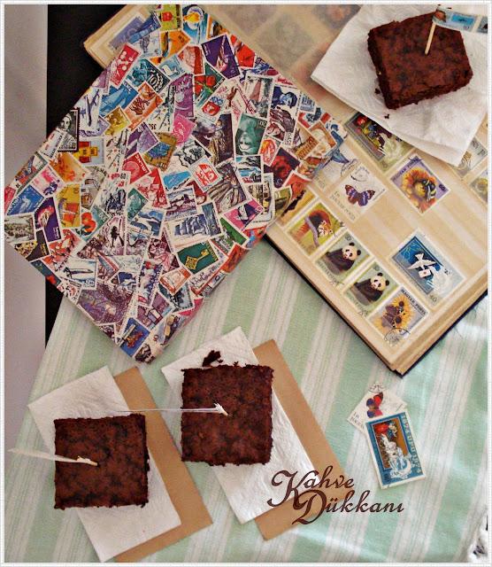 havuçlu kakaolu fındık parçalı kek