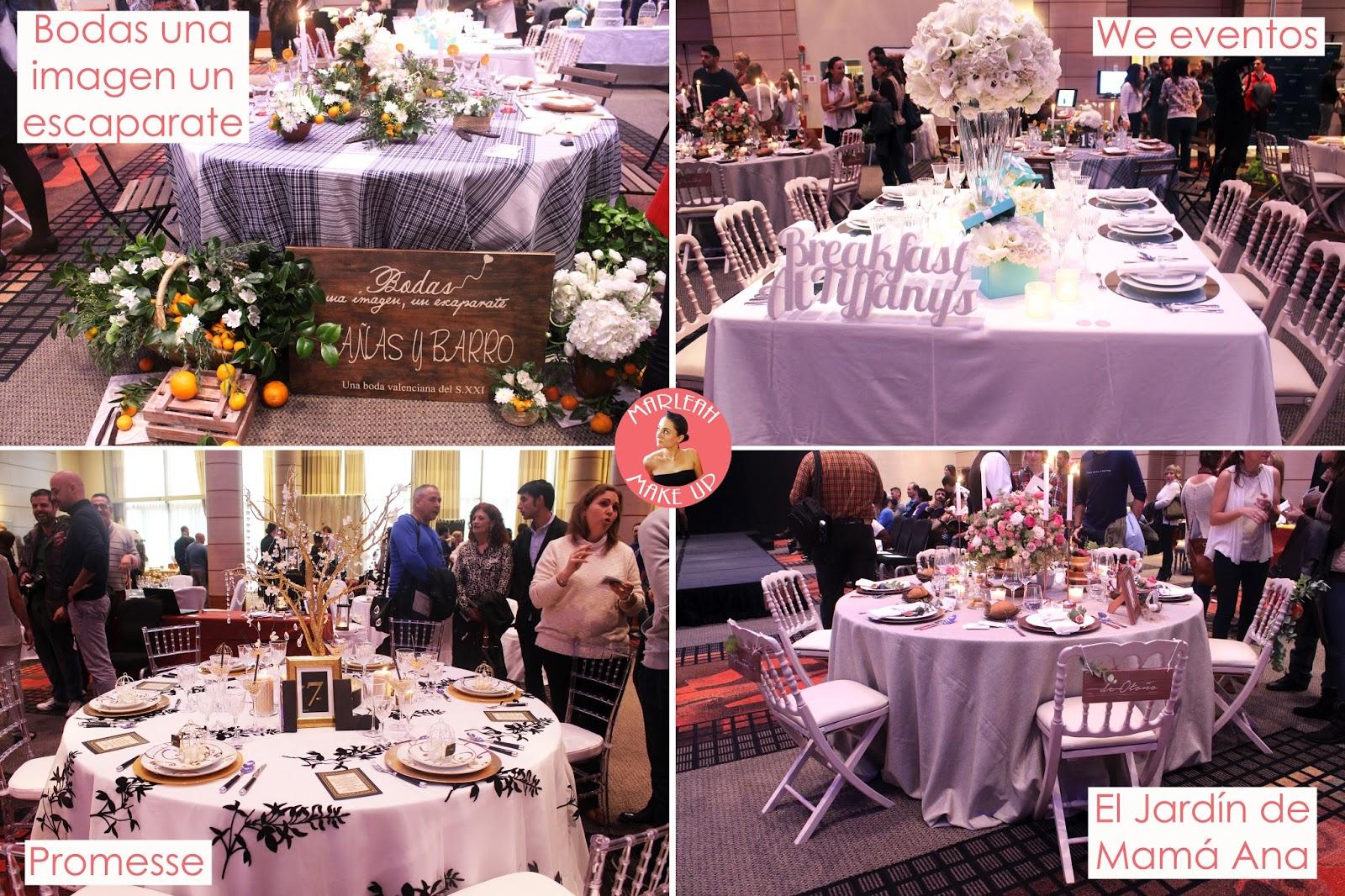 exhibición mesas banquete boda decoradas mi boda rocks experience valencia mi boda rocks marleah make up