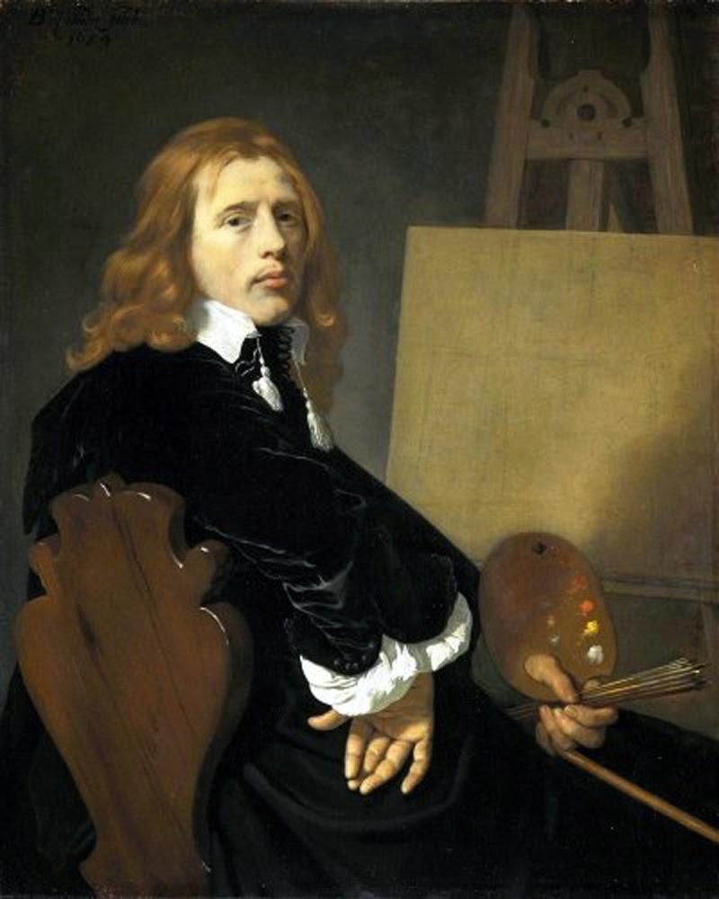 Karel Dujardin, Self Portrait, Portraits of Painters