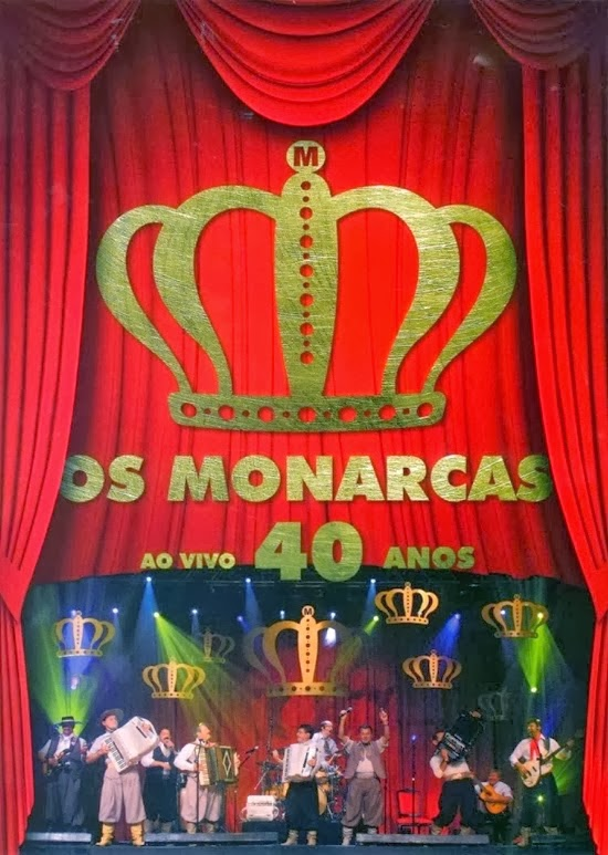 DVD Os Monarcas 40 Anos Ao Vivo