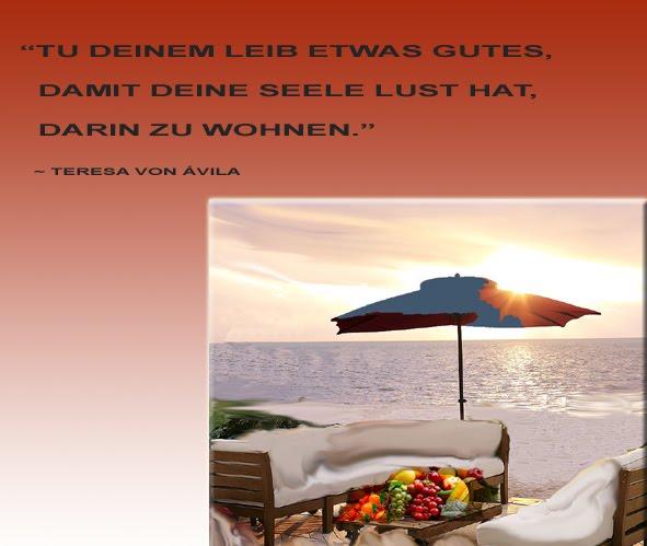 Wohnung und wohnen zitate freundschaftsspr che motivation - Teresa von avila zitate ...