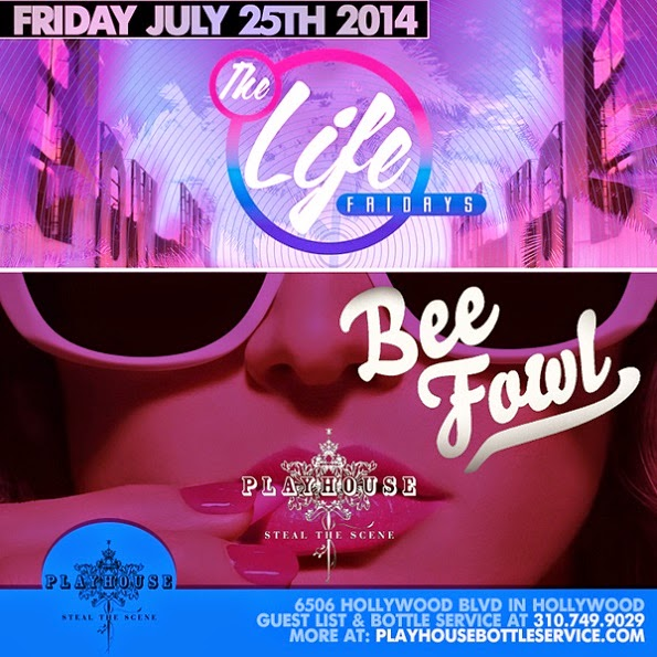 """Playhouse Nightclub Fridays 2014 July 25"""