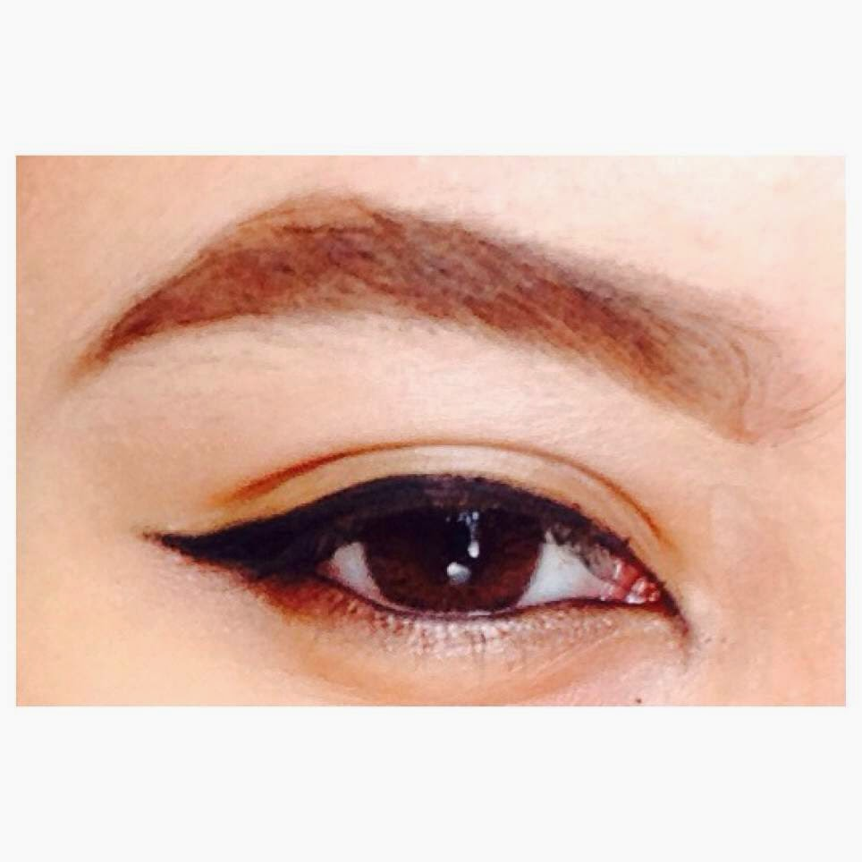 Najlaa Aqilah Basic Eyebrows Shaping And Filling Step By Step