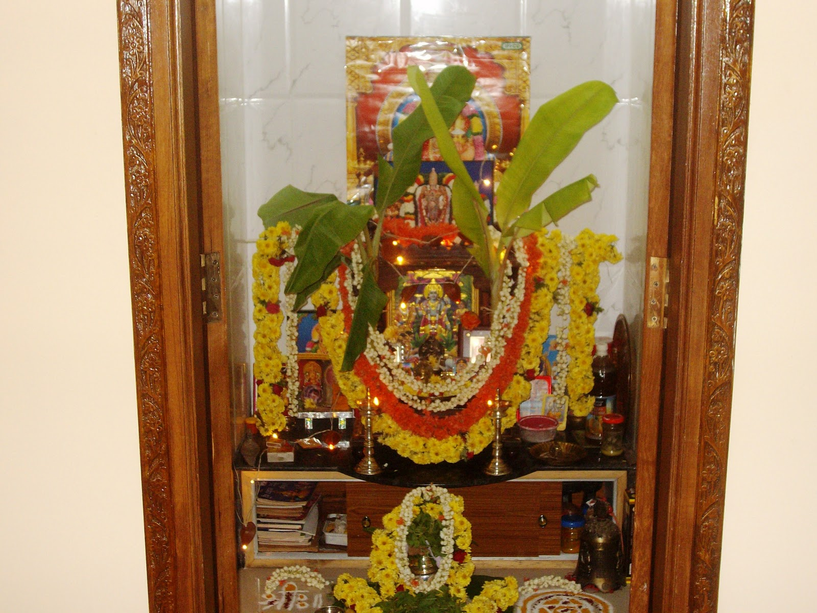 Pooja Room Decoration