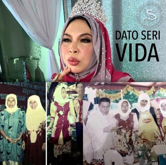 Jelmaan ketokohan Cik Siti Wan Kembang, ini asal usul Datuk Seri Vida