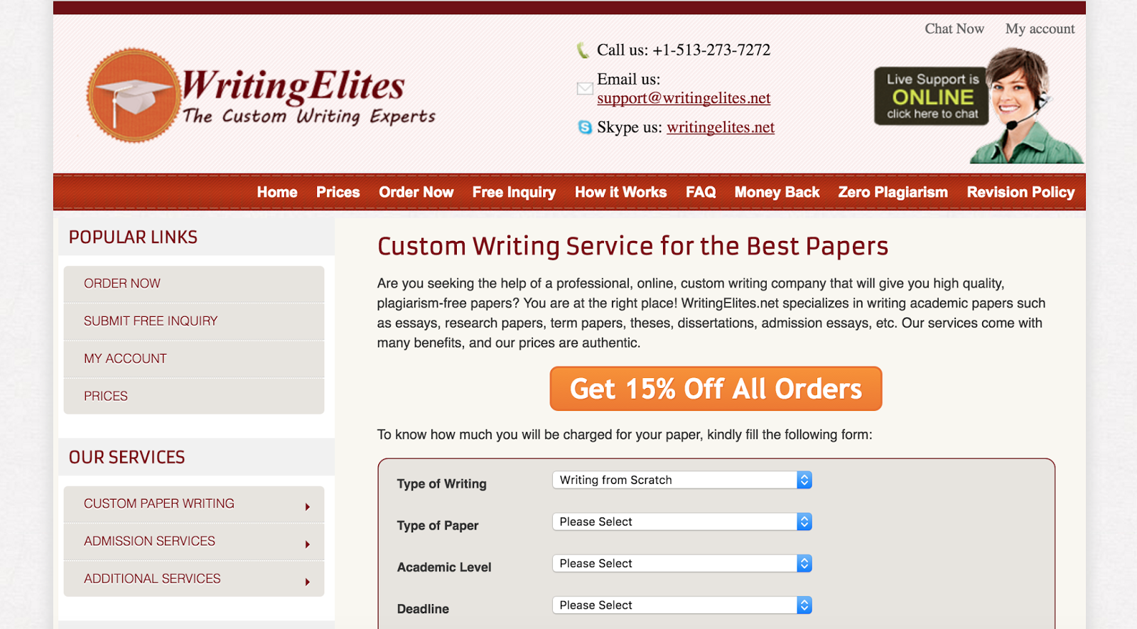 good custom essay writing service