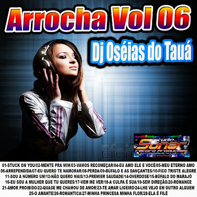 Cd Arrocha vol.06 Dj OseiasdoTaua Exclusivo 2014