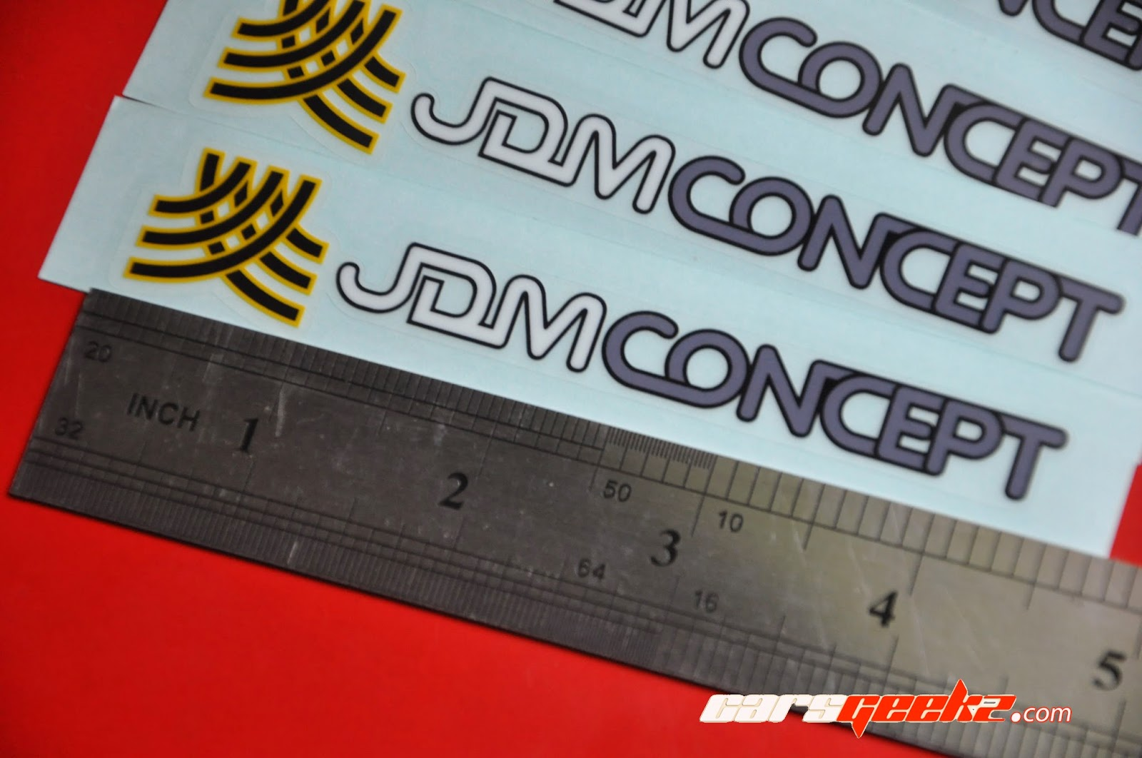 JDM Concept sticker / decal / vinyl OEM