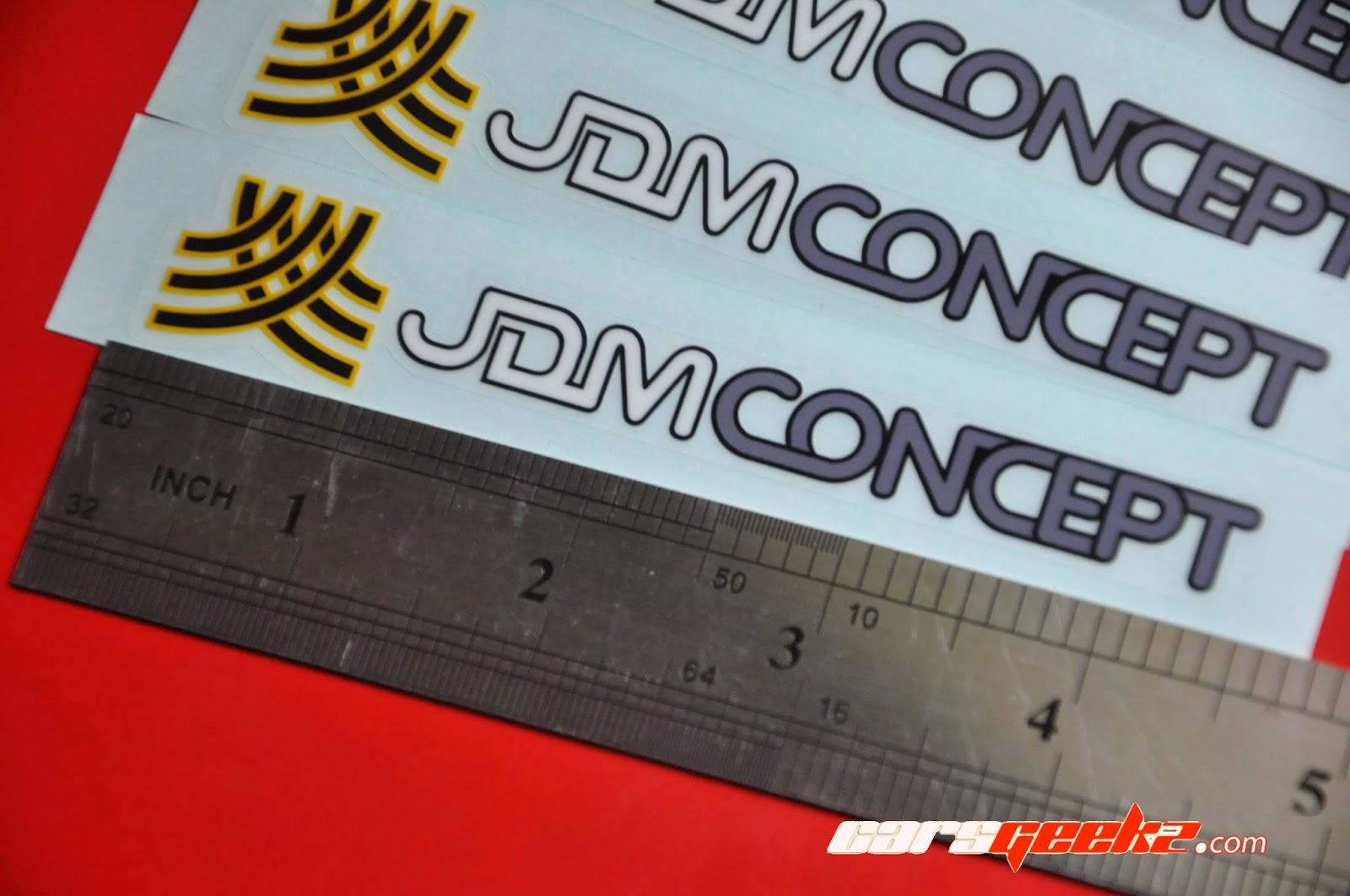 JDM Concept sticker / decal / vinyl OEM