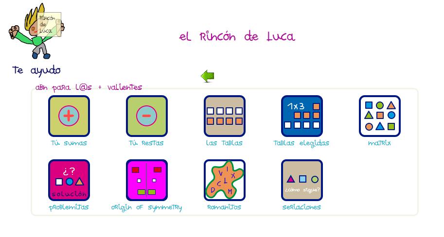EL RINCÓN DE LUCA