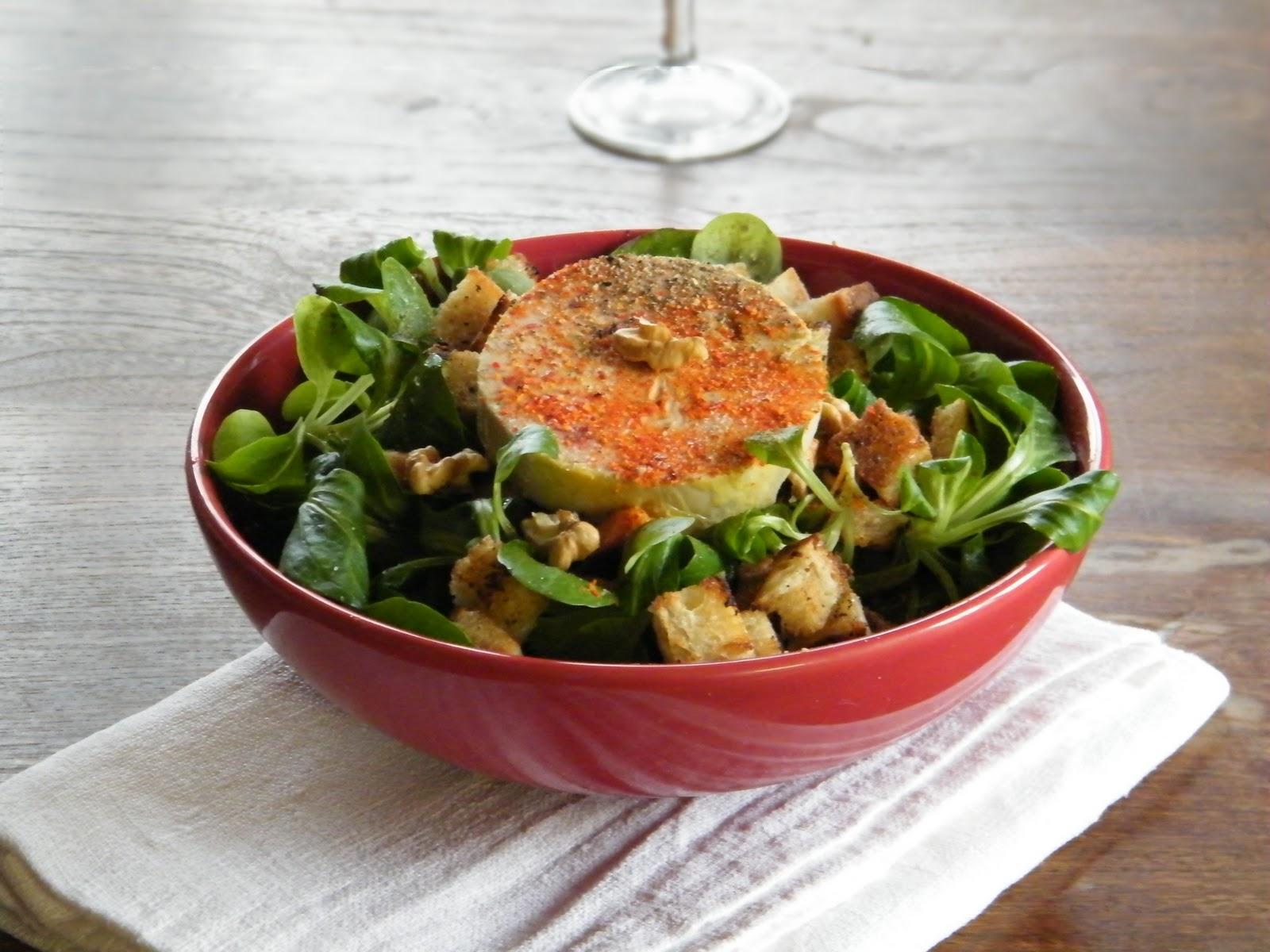 Cuisine Et Campagne De France Foie Gras En Salade D Hiver