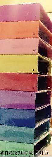 diy colored storage boxes classroom artroom organization