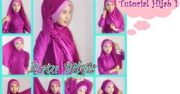 CARA PAKAI HIJAB JILBAB: Cara Memakai Hijab Cantik