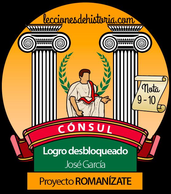Insignia de La Antigua Roma