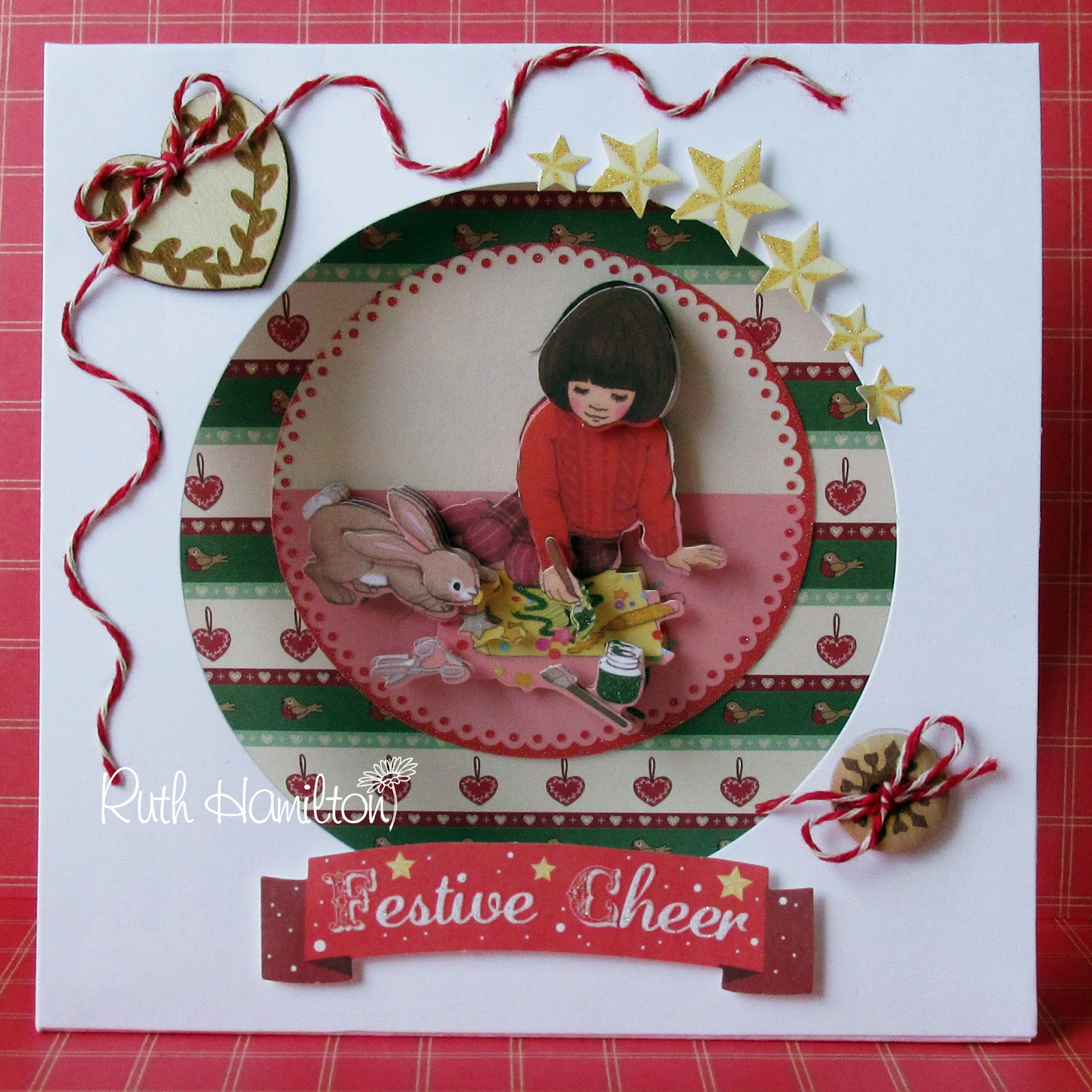 A Passion For Cards How To Make A Belle And Boo Christmas Tent Card