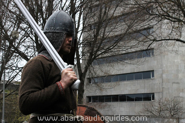 Tenth century viking returns to wood quay to find a few changes
