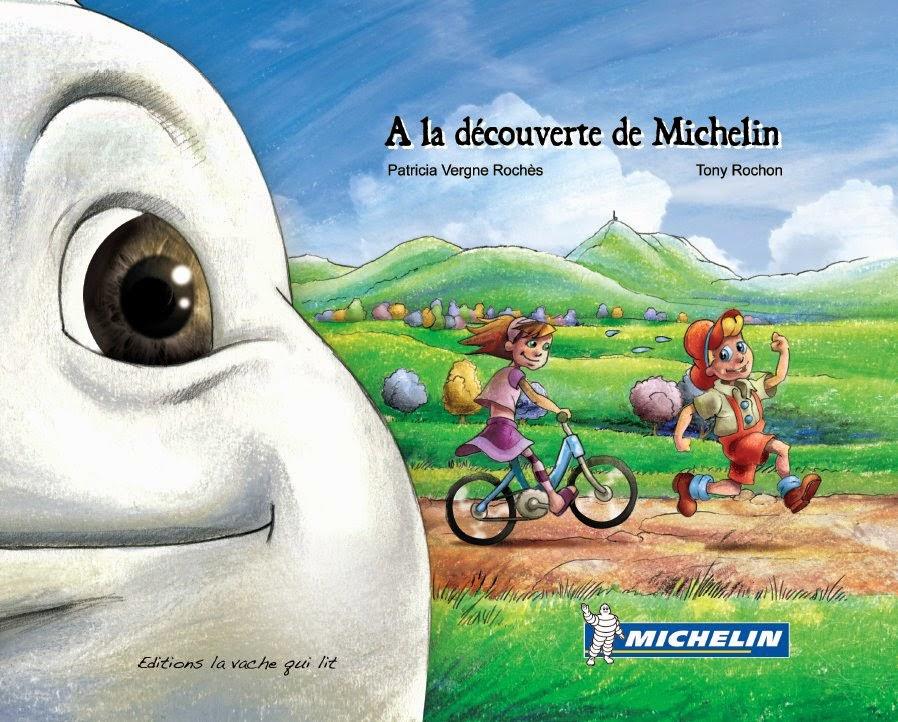 Couverture du livre à la découverte de Michelin