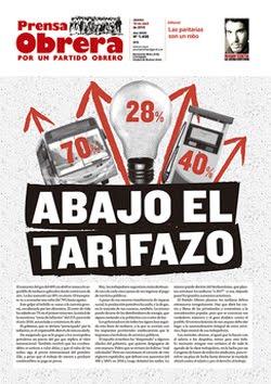 - - - - - - - Prensa Obrera Nº 1498 - - - - - - -