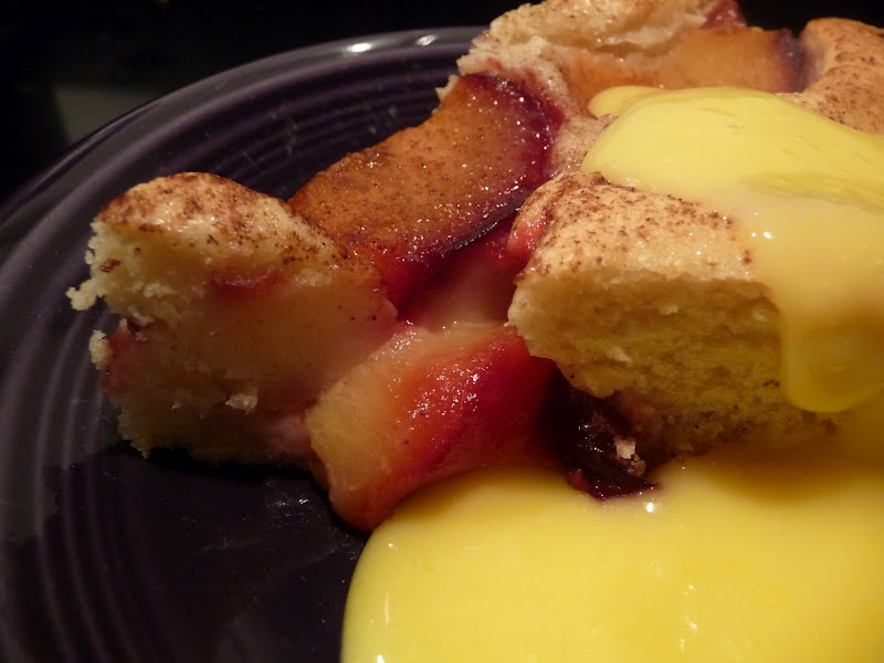 Recipes 4 my daughters: Easy Plum Skillet Cake