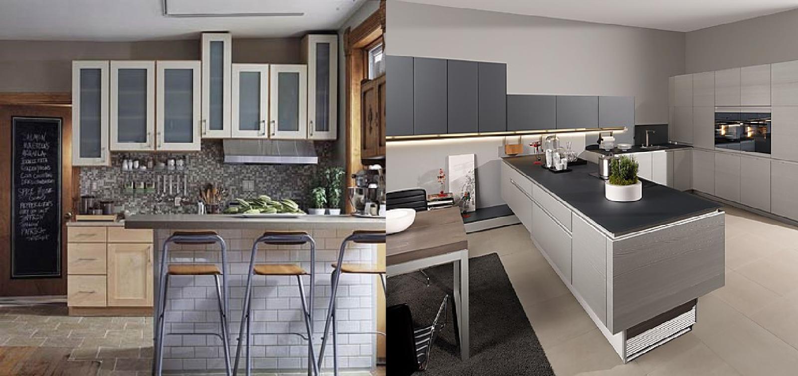 C mo elegir los colores de tu cocina casas ideas - Pared cocina pintada ...