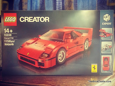 LEGO Ferrari F40 set 10248 review Creator Expert