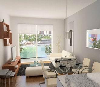 Como decorar pisos peque os aprender hacer bricolaje casero - Decoracion de interiores rustico moderno ...
