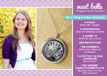 Bella The founder Of Origami Owl