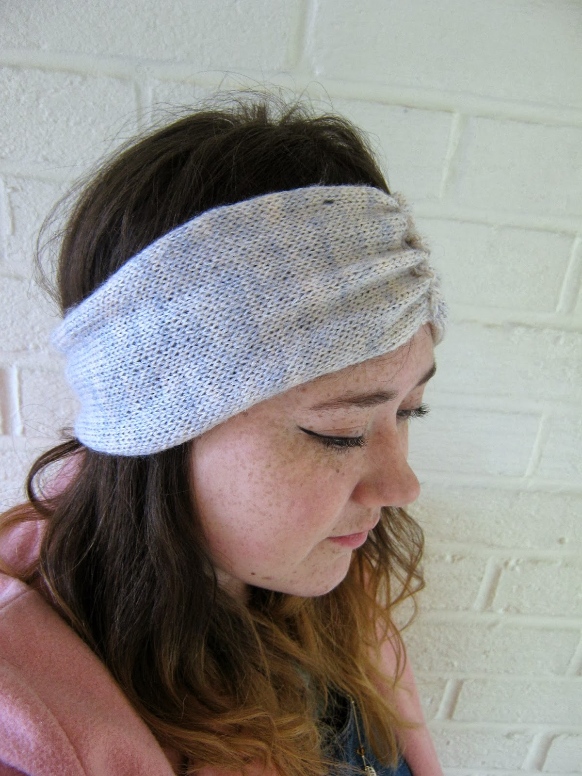 Free knitting pattern turban headband