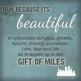 I run because,.,