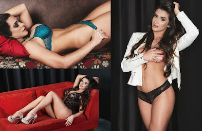 Musa do Sport Club Recife, Debora Áya exibe curvas sinuosamente perfeitas