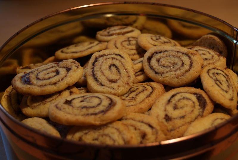 sei kreativ cinnamon roll cookies zimtschnecken pl tzchen. Black Bedroom Furniture Sets. Home Design Ideas