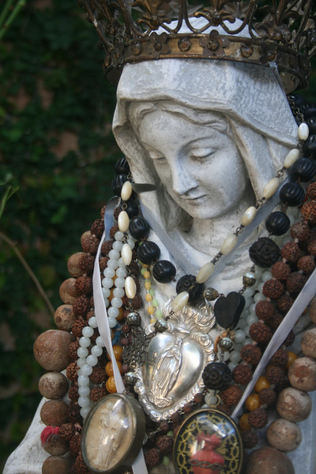The Great Mother shrine in my garden