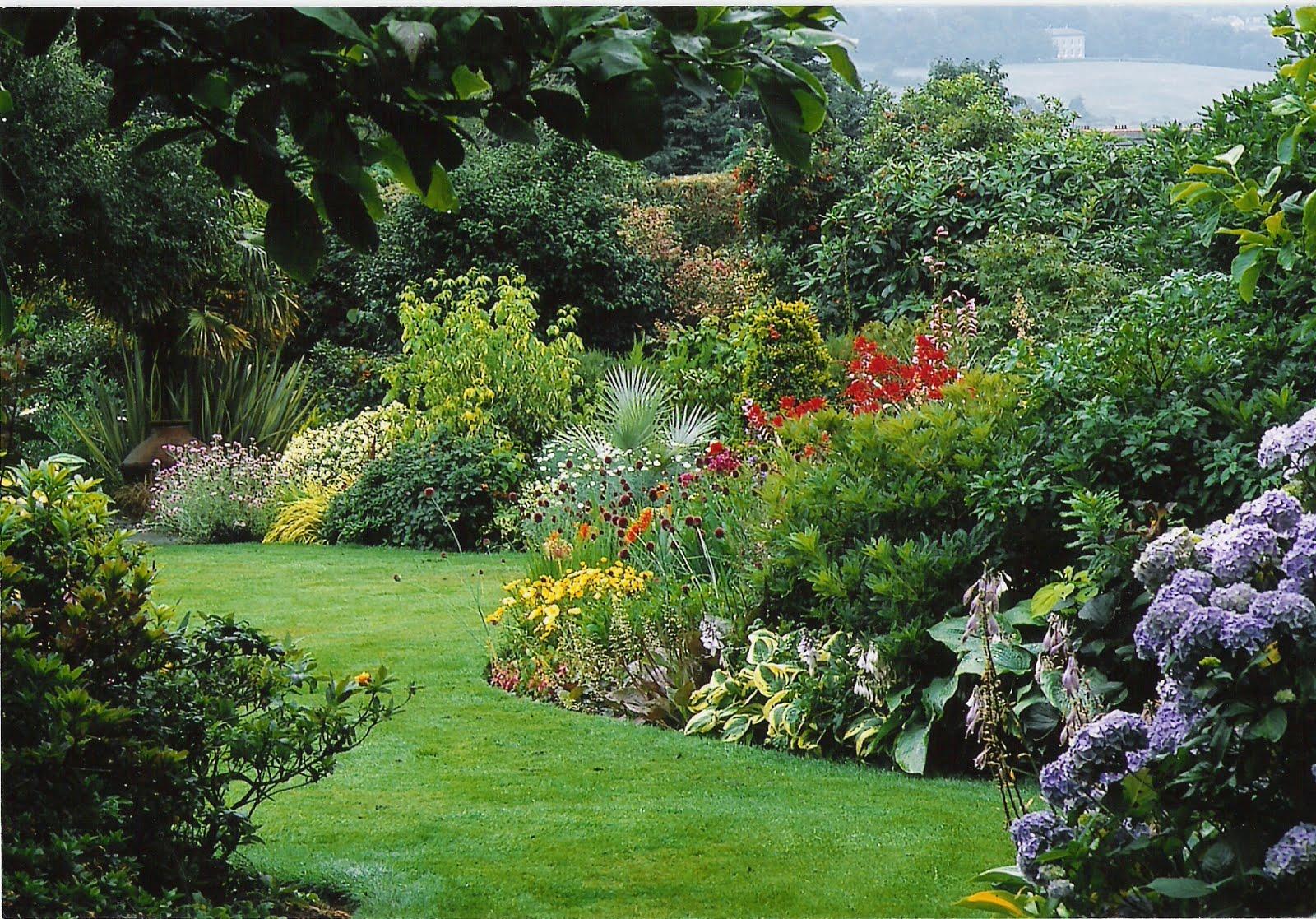 Jardinitis jardines de verano for Jardin anglais mixed border