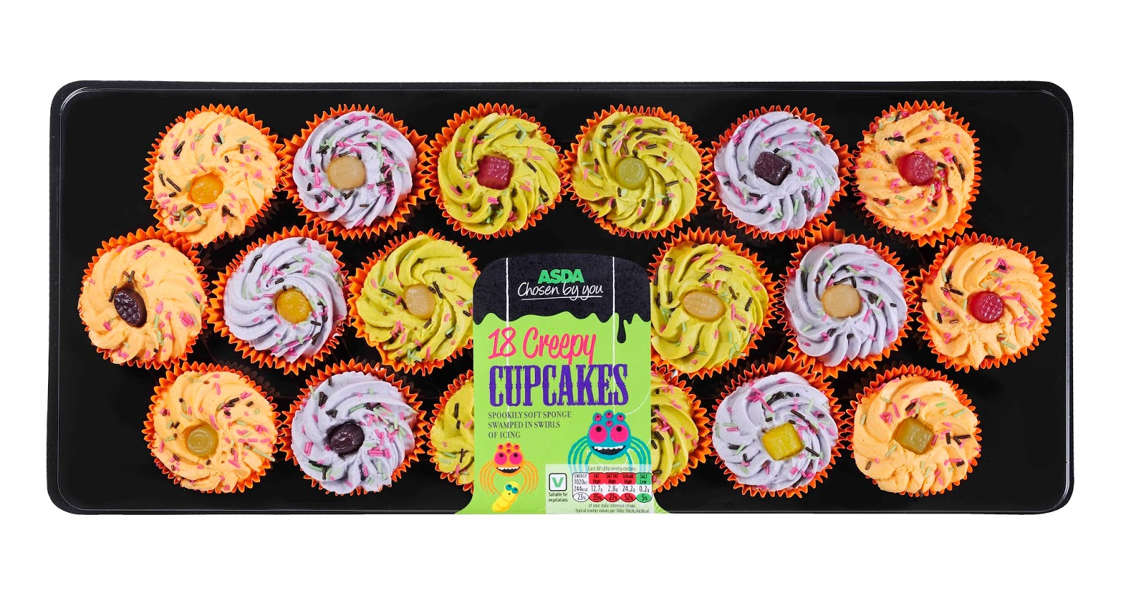 Cupcake Decorations Asda : Grocery Gems: Asda s Spooktacular Halloween!