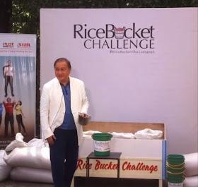 MVP accepts the 'Rice Bucket Challenge'