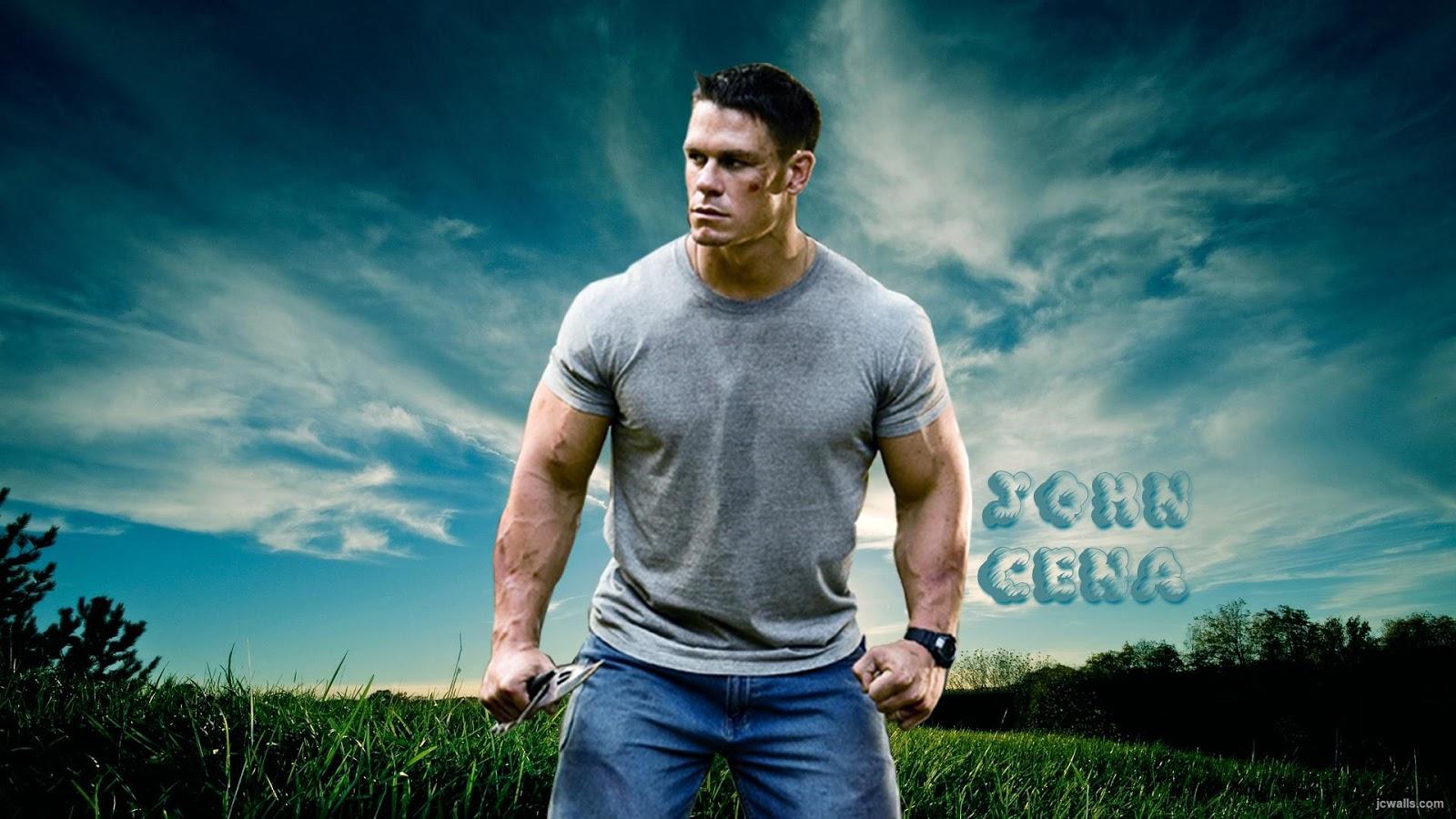 Wallpaper HD of WWE Star John Cena