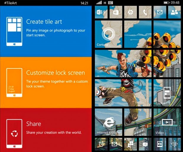 #tile free windowsphone techmix