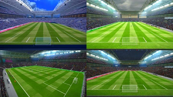 PES 2015 Update Stadiums more Pack Stadiums V3.5 + FIX by Estarlen Silva