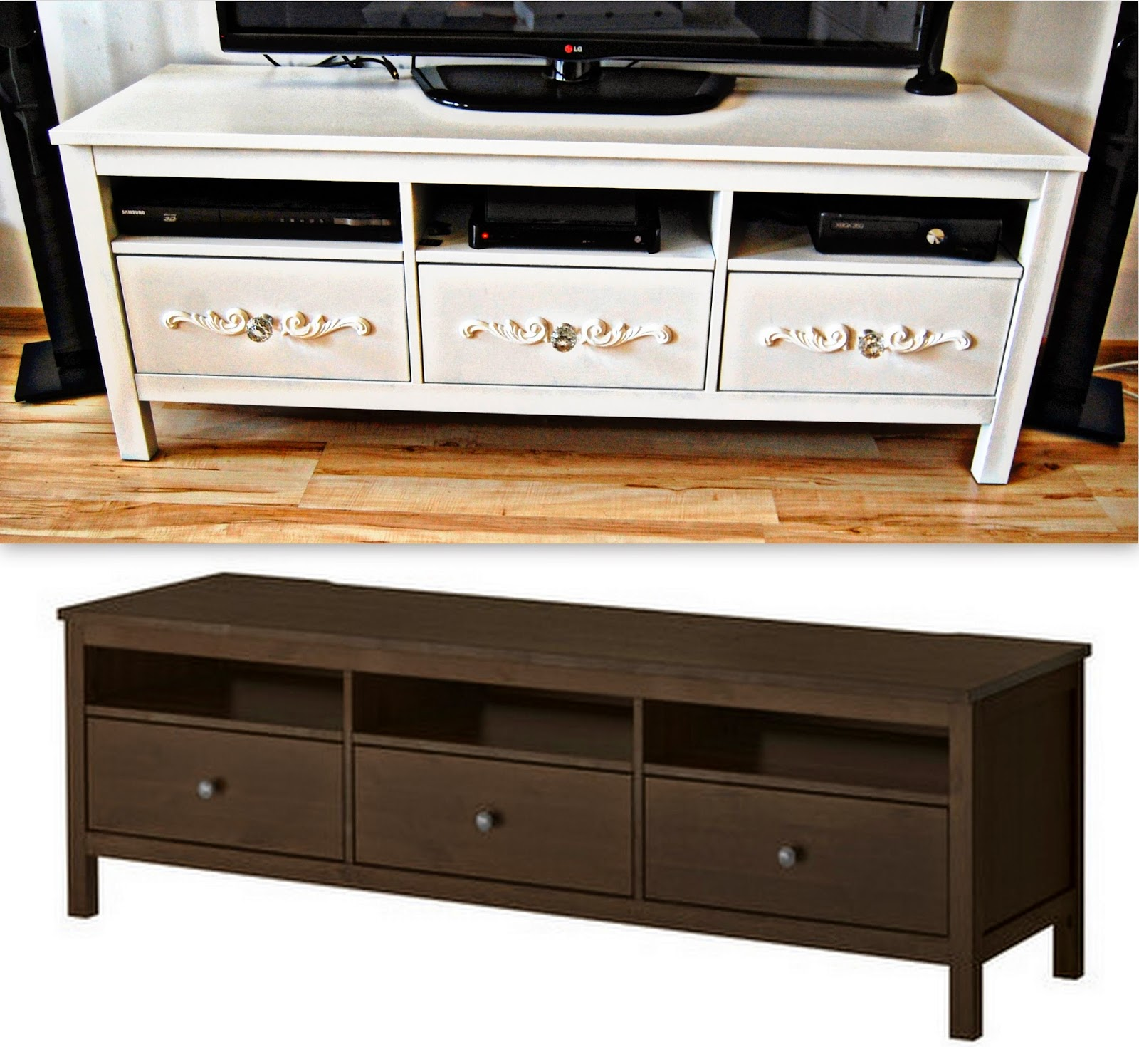 diy ikea hack szafka na tv hemnes wonderland by alicja. Black Bedroom Furniture Sets. Home Design Ideas