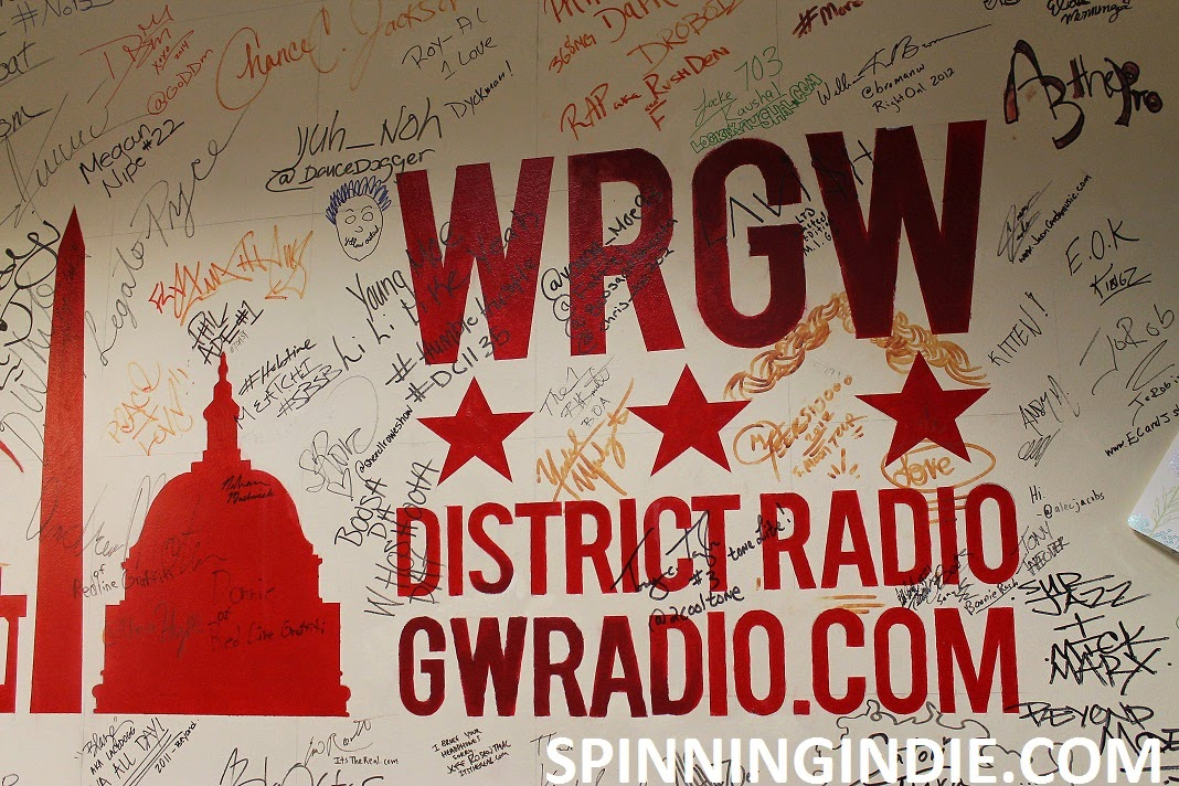 Spinning Indie Field Trip 65 - College Radio Station WRGW at George Washington University
