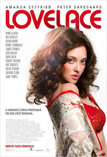 "Poster do filme ""Lovelace"""