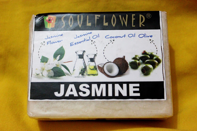 Soulflower Jasmine Soap: